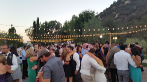 Temecula DJ-Secluded Garden Dance floor